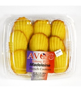 Madeleine French Cookies