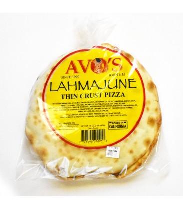 Lahmajune Thin Crust Pizza